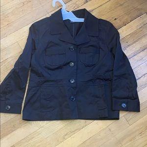 Rafaella size 14 black blazer